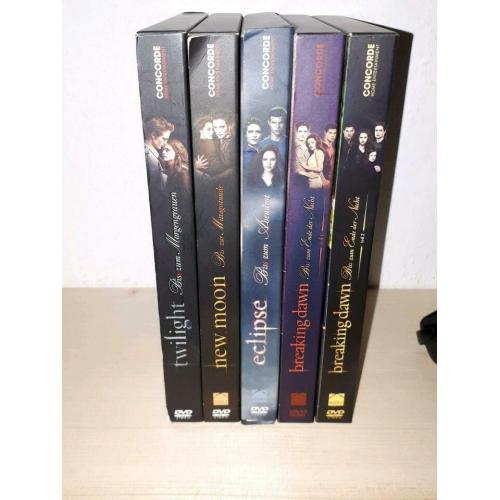Twilight DVD komplett